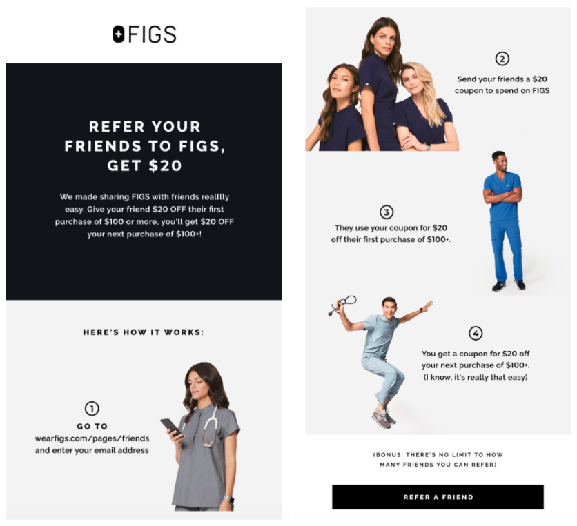 FIGS - How FIGS, Thinx, and The Bouqs Company Convert E-Commerce Customers Into Loyal Brand Advocates