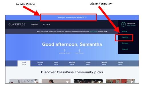 Referral Marketing Tactics of the Best Brands - ClassPass