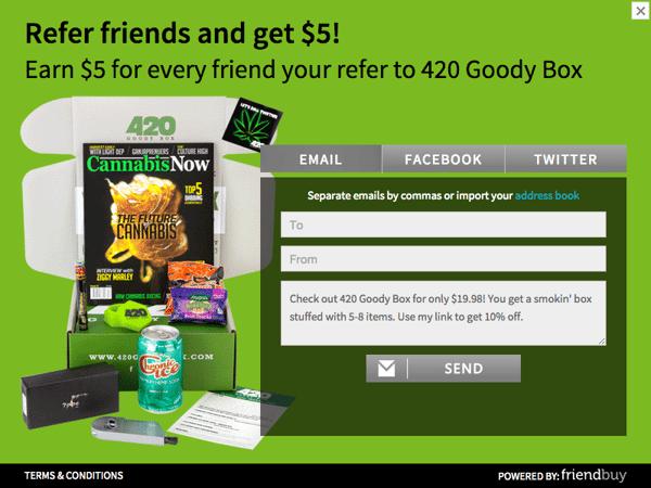 420 GoodieBox Refer a Friend