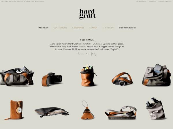 Hard Graft Homepage