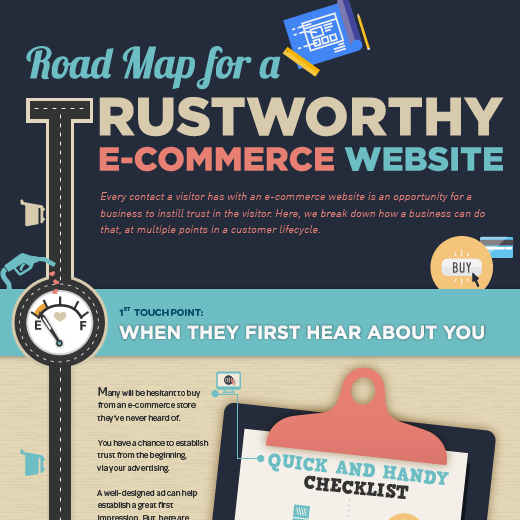 Roadmap for a Trustworthy E-commerce Website