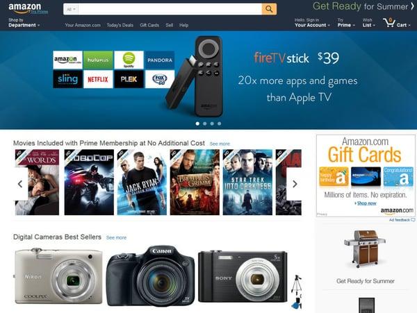 Amazon UX Design