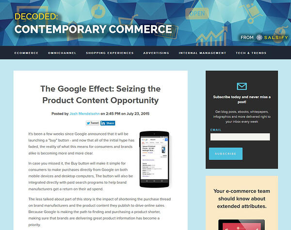 decoded contemporary commerce blogs
