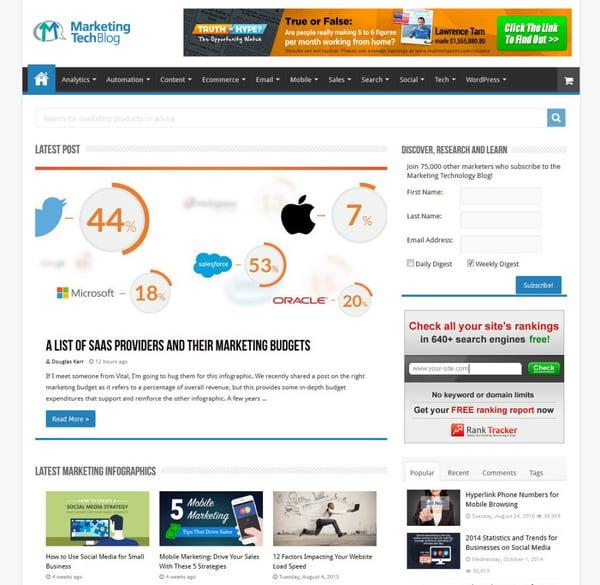 marketing tech blog