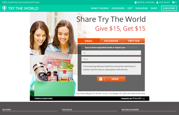 try the world referral page